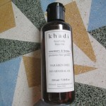 Khadi Rosemary and Henna Hair Oil Review