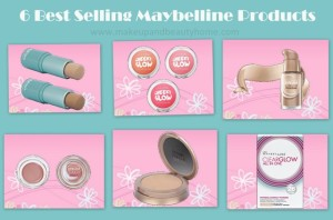 6 Best Selling Maybelline Makeup Products – Prices, Photos and Reviews