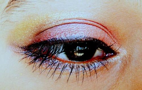 Zodiac Scorpio Eye Makeup Look