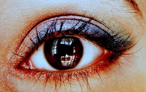 eye makeup with primer