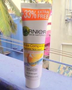 Garnier White Complete Fairness Face Wash Review