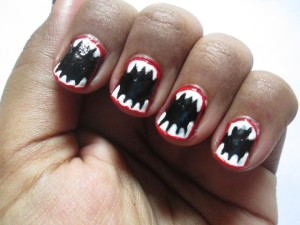 Halloween Inspired Easy Nail Art Tutorial