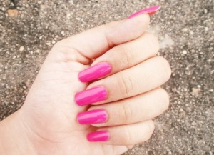 Maybelline Color Show Nail Enamel Feisty Fuschia Review