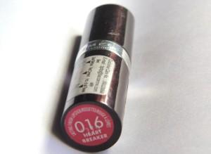 Rimmel London Lasting Finish Lipstick Heartbreaker Review