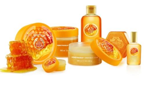 The Body Shop Honeymania Range