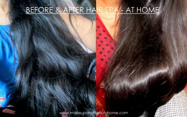 my hair spa results