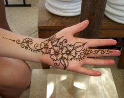 Mehndi Designs Jeans : 8 gorgeous indian mehendi designs for beginners makeup and beauty home