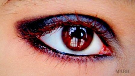 Eye makeup tutorials on mabh by dharu