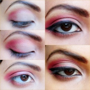 Be My Valentine Eye Makeup Tutorial and FOTD
