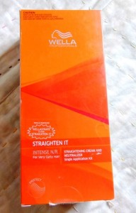 Wella Hair Straightening Kit Review and My Experience
