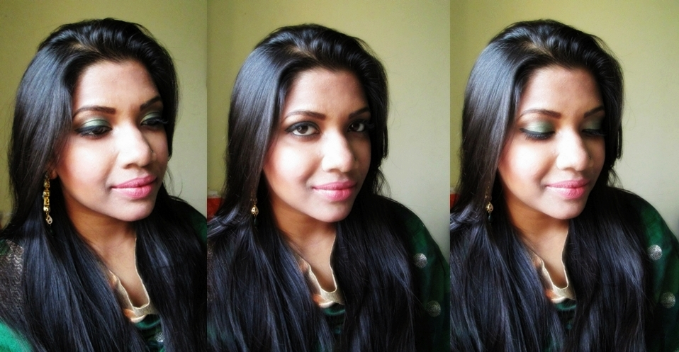 Indian Wedding Attending Easy Eye Makeup Tutorial and FOTD ...