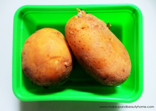 potato skin lightening recipes for all skin types