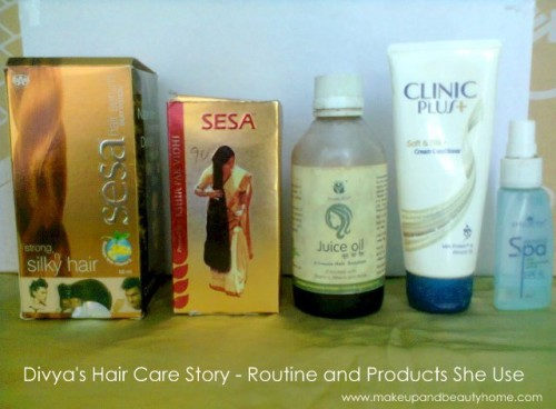 divya's hair care story and routine