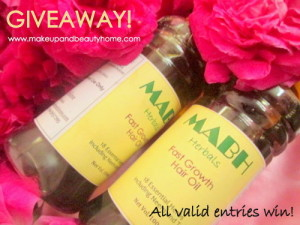 Share Your Hair Story and Win MABH Fast Growth Hair Oil (Each Entry Wins)