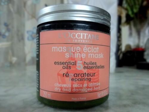 loccitane hair mask