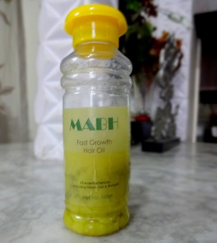 my review on mabh hair oil