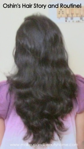 my hair - oshins hair growth story