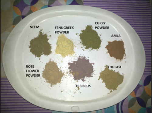 my powders hair pack recipe