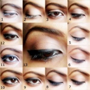 Simple Winged Eyeliner : Step by Step Tutorial and FOTD