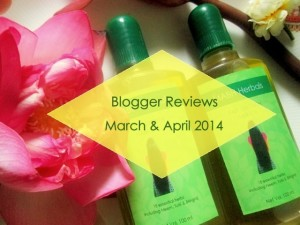 MABH Hair Oil Blogger Reviews : March & April 2014