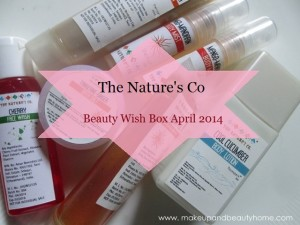 The Nature's Co Beauty Wish Box April 2014 : Review & Photos
