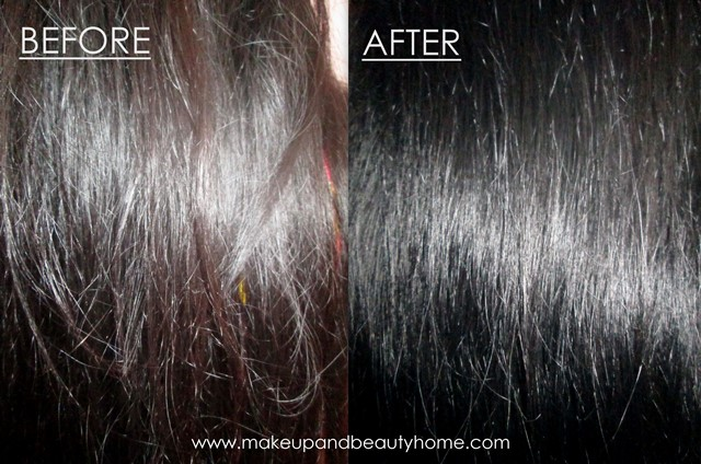 before and after ebony black loreal paris