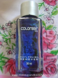 Colorbar Nail Polish Remover Review