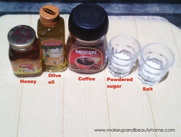 diy scrub or dry skin