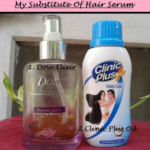 hair serums I use