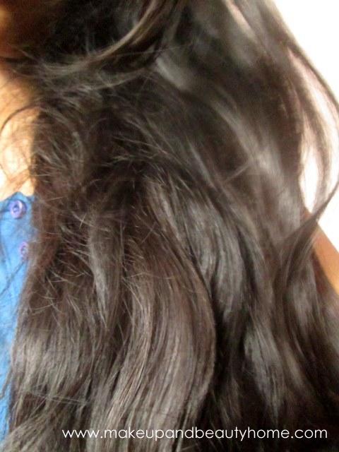 my hair before spa