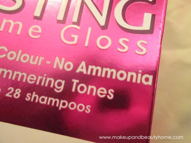 no ammonia hair color