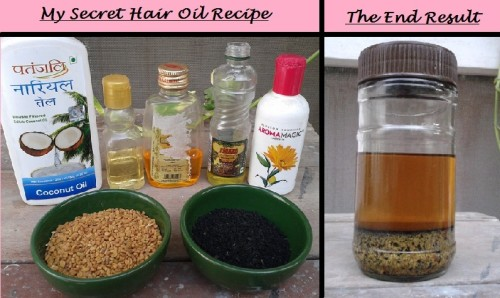 how to prepare fenugreek oil at home