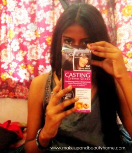 How to Color Your Hair with L'Oreal Paris Casting Creme Gloss? : Tutorial, Photos and Steps!