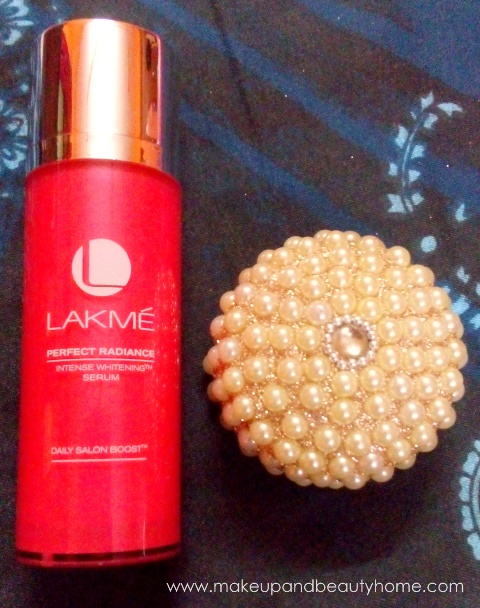 lakme perfect radiance intense whitening serum review