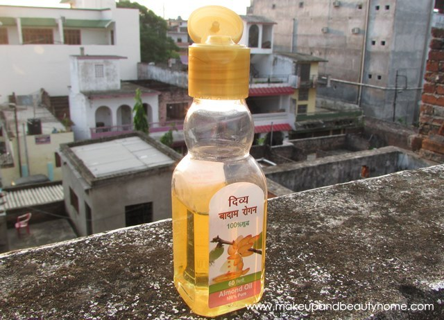 patanjali almond oil review