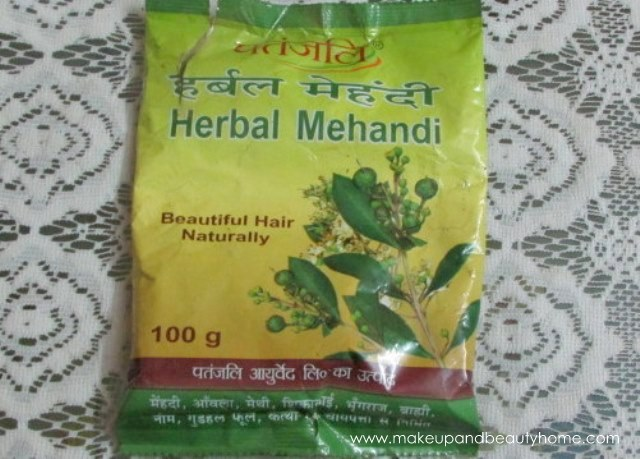 patanjali henna review