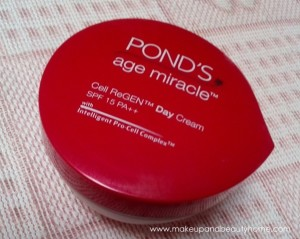 Ponds Age Miracle Cell ReGEN Day Cream SPF 15 PA++ Review