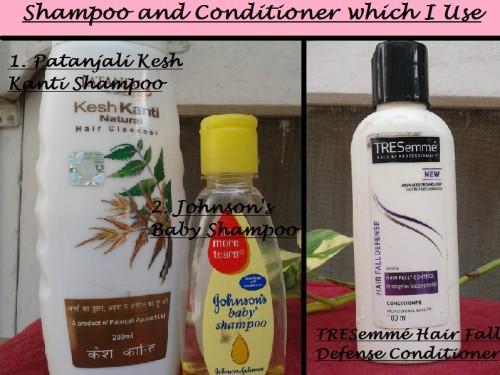 shampoo and conditioner I use
