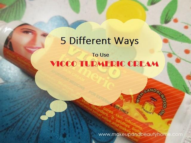 5 ways to use vicco turmeric cream