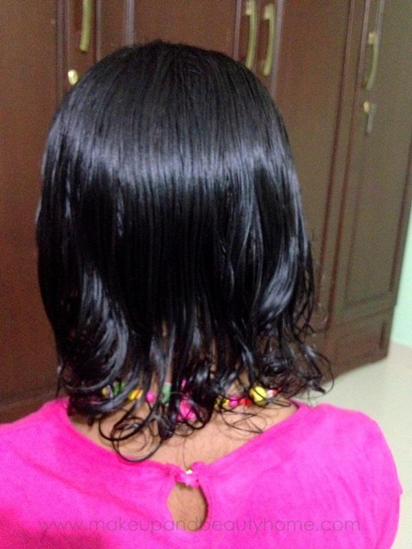 5 year old girl's hair