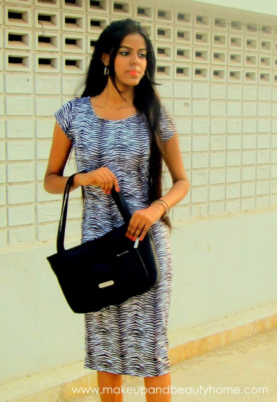 my zebra dress