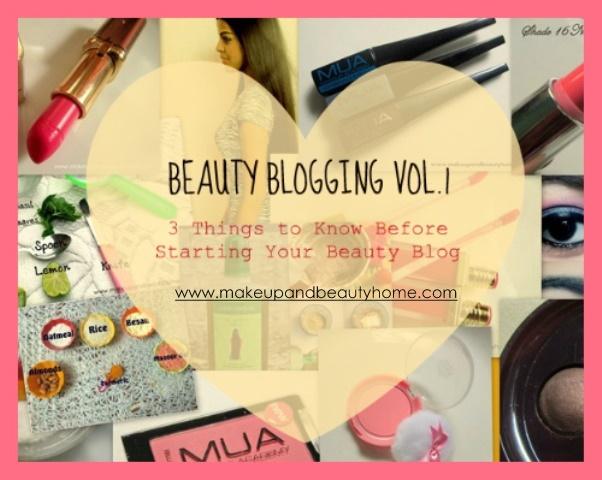 beauty blogging vol.1