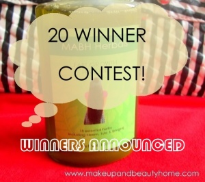 Winners Announced : MABH Fast Growth Hair Oil Facebook Contest (20 Winners)