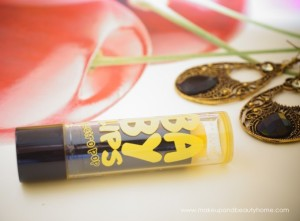 Maybelline Baby Lips Electro Pop Lip Balm Fierce N Tangy Review, Photos and FOTD