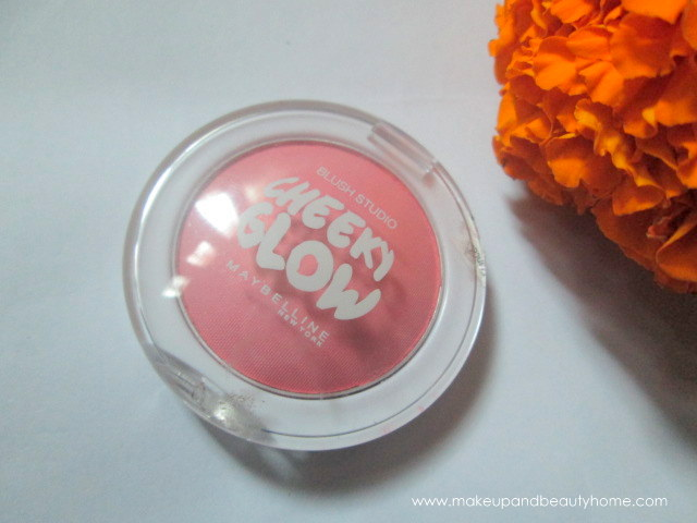 maybelline cheeky glow blush peachy sweetie review