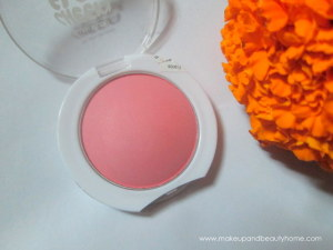 Maybelline Cheeky Glow Blush : Peachy Sweetie Review, Swatch, Photos