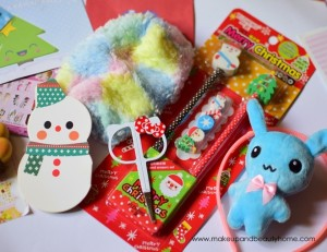 Kawaii Box December 2014 : Photos and Review