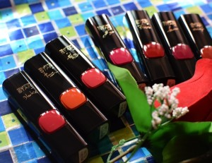 L'Oreal Paris Color Riche Collection Star Range Pure Reds Lipsticks : Photos and First Impressions