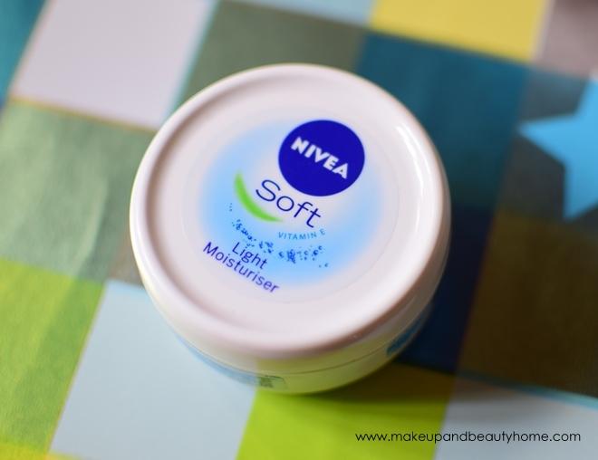 nivea soft light moisturizer