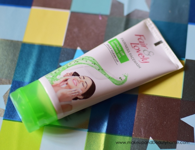 fair and lovely pimple off fairness on face wash